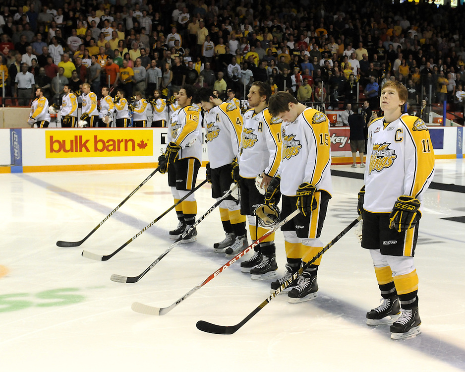 Game 6 of the 2010 MasterCard Memorial Cup in Brandon, MB on Wednesday May 19, 2010. Photo by Aaron Bell/CHL Images