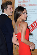 Nov. 9, 2015 - New York, NY, USA -<br /> <br /> Glamour Awards<br /> <br /> Victoria Beckham and Brooklyn Beckham  seen outside Carnegie Hall on November 9, 2015 in New York City<br /> ©Exclusivepix Media