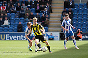 Burton No 21 Mark Duffy in the Sky Bet League 1 match between Colchester United and Burton Albion at the Weston Homes Community Stadium, Colchester, England on 23 April 2016. Photo by Nigel Cole.