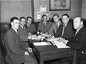1952 Chefs committee Meeting, Hotels Branch I.T.G.W.U.