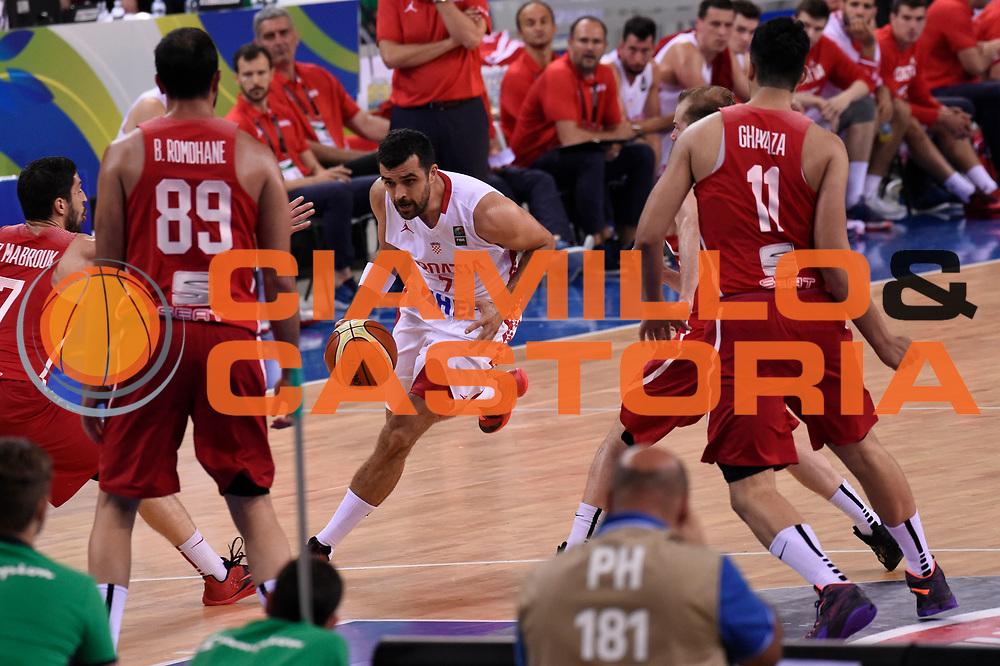 DESCRIZIONE: Torino FIBA Olympic Qualifying Tournament CROATIA CROAZIA-TUNISY TUNISIA<br /> GIOCATORE: Simon Krunoslav<br /> CATEGORIA: Nazionale Italiana Italia Maschile Senior<br /> GARA: FIBA Olympic Qualifying CROATIA CROAZIA-TUNISY TUNISIA<br /> DATA: 06/07/2016<br /> AUTORE: Agenzia Ciamillo-Castoria
