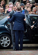 11-11-2014 - LUXEMBURG - LUXEMBURG: King and Queen of Spain King Felipe VI and Queen Letizia  Grand Duke Henri and Grand Duchess Maria Teresa of Luxembourg and Hereditary Grand Duke Guillaume of Luxembourg and Hereditary Grand Dutchess Stephanie . COPYRIGHT ROBIN UTRECHT