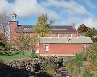 Harris Mill, Harrisville, New Hampshire (ca. 1830)