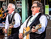 The GB's, a 60's British Invasion and American Pop band, performing at the May DADA Gallery Hop in Winston-Salem, North Carolina
