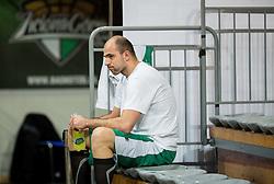Szymon Szewczyk during practice session of basketball club Stelmet BC Zielona Gora (POL), on January 21, 2016 in CRS Hala Zielona Góra, Zielona Gora, Poland. Photo by Vid Ponikvar / Sportida