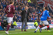 Hearts Interim Manager Austin MacPhee during the Betfred Scottish League Cup semi-final match between Rangers and Heart of Midlothian at Hampden Park, Glasgow, United Kingdom on 3 November 2019.