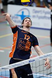 20181027 NED: Eredivisie, SV Land Taurus - Achterhoek Orion: Houten<br />Steven MacDonald (12) of Achterhoek Orion<br />©2018-FotoHoogendoorn.nl / Pim Waslander