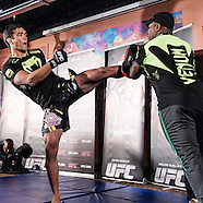 UFC Fight Night 30: Open Work Outs