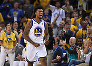 May 26, 2018; Oakland, CA, USA; Golden State Warriors guard Nick Young (6) reacts against the Houston Rockets in the second half in game six of the Western conference finals of the 2018 NBA Playoffs at Oracle Arena.