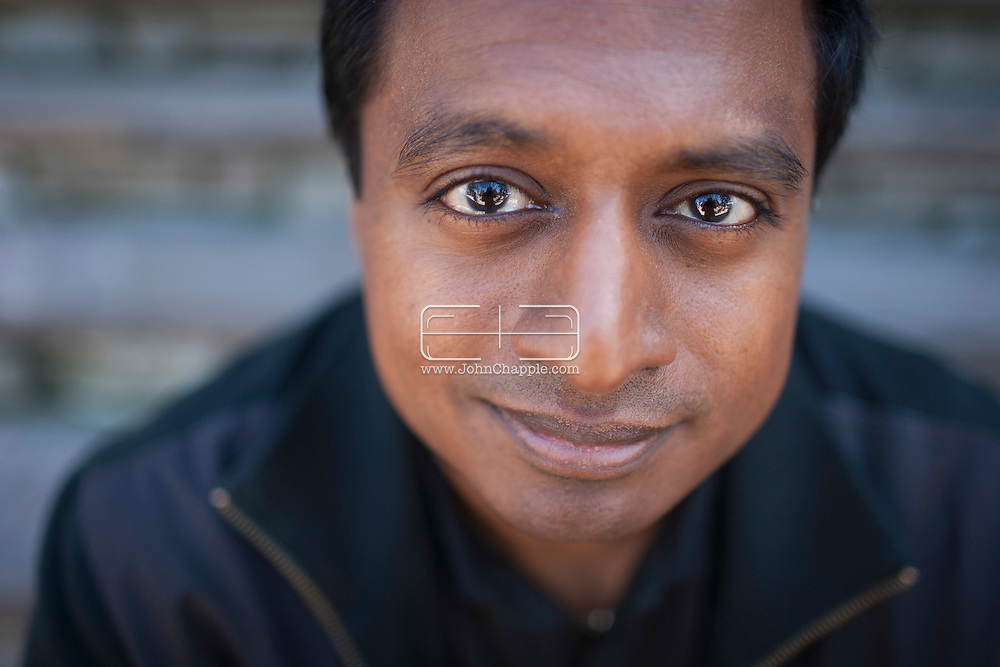 April 8, 2015. Los Angeles, California. Actress Mindy Kaling's brother, Vijay Chokal-Ingam. Vijay claims he pretended to be African American and was accepted into the St. Louis University School of Medicine in 1998<br /> <br /> Photo Copyright John Chapple / www.JohnChapple.com