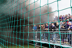 26.10.2016, Sportzentrum, Ebreichsdorf, AUT, OeFB Samsung Cup, ASK Ebreichsdorf vs FK Austria Wien, Achtelfinale, im Bild die Fans der Austria // during the OeFB Samsung Cup Round of last 16 Match between ASK Ebreichsdorf and FK Austria Wien at the Sportzentrum in Ebreichsdorf, Austria on 2016/10/26. EXPA Pictures © 2016, PhotoCredit: EXPA/ Sebastian Pucher