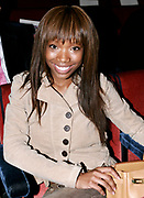 Brandy at  Baby Phat Fashion Show