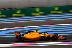 June 22, 2018 - Le Castellet, Var, France - McLaren 2 Driver STOFFEL VANDOORNE (BEL) in action during the Formula one French Grand Prix at the Paul Ricard circuit at Le Castellet - France (Credit Image: © Pierre Stevenin via ZUMA Wire)