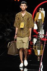 Milan Fashion Week Men's Spring Summer 2019 - Fendi Fashion Show - 19 June 2018