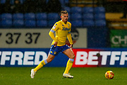 Leeds United midfielder Kalvin Phillips (23) in action  during the EFL Sky Bet Championship match between Bolton Wanderers and Leeds United at the Macron Stadium, Bolton, England on 15 December 2018.