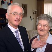 Huldiging Corry van Amstel 50 jaar lid koor Deo Juvante Huizen