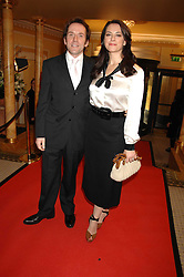 BEN MILLER and his wife BELINDA at the South Bank Show Awards held at The Dorchester, Park Lane, London on 29th January 2008.<br />