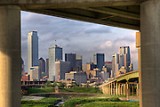 0640  ~ Dallas from the levee