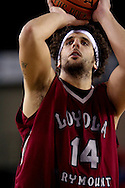11/22/2006 - Anchorage, Alaska: Senior forward/center Matthew Knight (14) of the Loyola Marymount Lions as Loyola Marymount defeats the University of Alaska-Anchorage 69-58 in the first game of the 2006 Great Alaska Shootout<br />