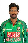 Shuvagoto Hom Chowdhury, Bangladesh cricket team headshots ahead of their New Zealand tour. Cobham Oval, Whangarei. 21 December 2016. Copyright Image: Heath Johnson / www.photosport.nz