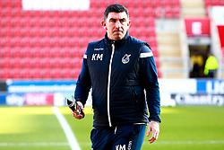 Bristol Rovers coach Kevin Maher - Mandatory by-line: Ryan Crockett/JMP - 18/01/2020 - FOOTBALL - Aesseal New York Stadium - Rotherham, England - Rotherham United v Bristol Rovers - Sky Bet League One