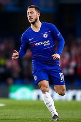 Eden Hazard of Chelsea - Mandatory by-line: Robbie Stephenson/JMP - 18/04/2019 - FOOTBALL - Stamford Bridge - London, England - Chelsea v Slavia Prague - UEFA Europa League Quarter Final 2nd Leg