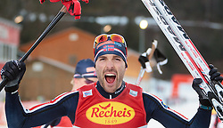 19.12.2015, Nordische Arena, Ramsau, AUT, FIS Weltcup Nordische Kombination, Langlauf, im Bild Sieger Magnus Moan (NOR) // Winner Magnus Moan of Norway during Cross Country Competition of FIS Nordic Combined World Cup, at the Nordic Arena in Ramsau, Austria on 2015/12/19. EXPA Pictures © 2015, PhotoCredit: EXPA/ JFK