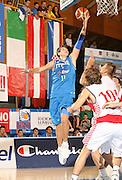 DESCRIZIONE : Bormio Torneo Internazionale Gianatti Finale Italia Croazia <br /> GIOCATORE : Stefano Mancinelli<br /> SQUADRA : Nazionale Italia Uomini <br /> EVENTO : Bormio Torneo Internazionale Gianatti <br /> GARA : Italia Croazia<br /> DATA : 04/08/2007 <br /> CATEGORIA : Tiro<br /> SPORT : Pallacanestro <br /> AUTORE : Agenzia Ciamillo-Castoria/G.Cottini<br /> Galleria : Fip Nazionali 2007 <br /> Fotonotizia : Bormio Torneo Internazionale Gianatti Finale Italia Croazia<br /> Predefinita :