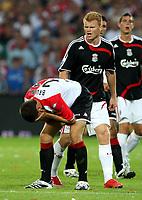 Photo: Maarten Straetemans.<br /> Feyenoord v Liverpool. Rotterdam Tournament. 05/08/2007.<br /> John Arne Riise, Liverpool