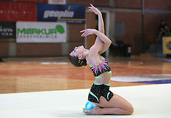 "Mojca Rode at event ""Slovenian Gymnastics stars"" after the European Championships in Milano, on April 6, 2009, in Hall Slovan, Kodeljevo, Ljubljana, Slovenia. (Photo by Vid Ponikvar / Sportida)"