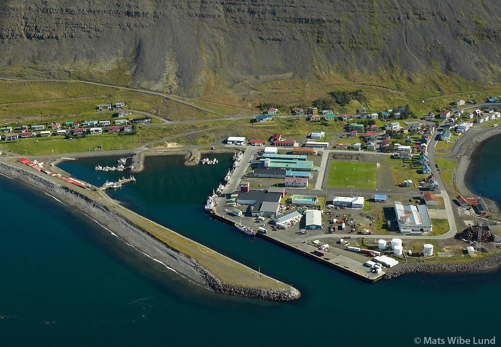 Patreksfjörður / Patreksfjordur harbour