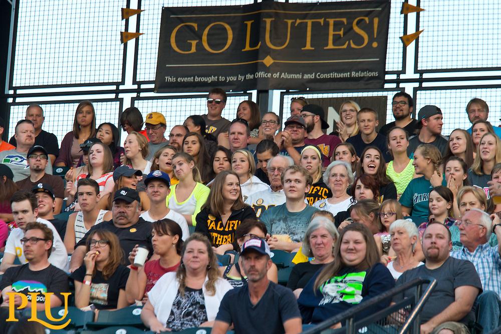 PLU Night at the Rainiers on Saturday, Aug. 23, 2014. (Photo/John Froschauer)