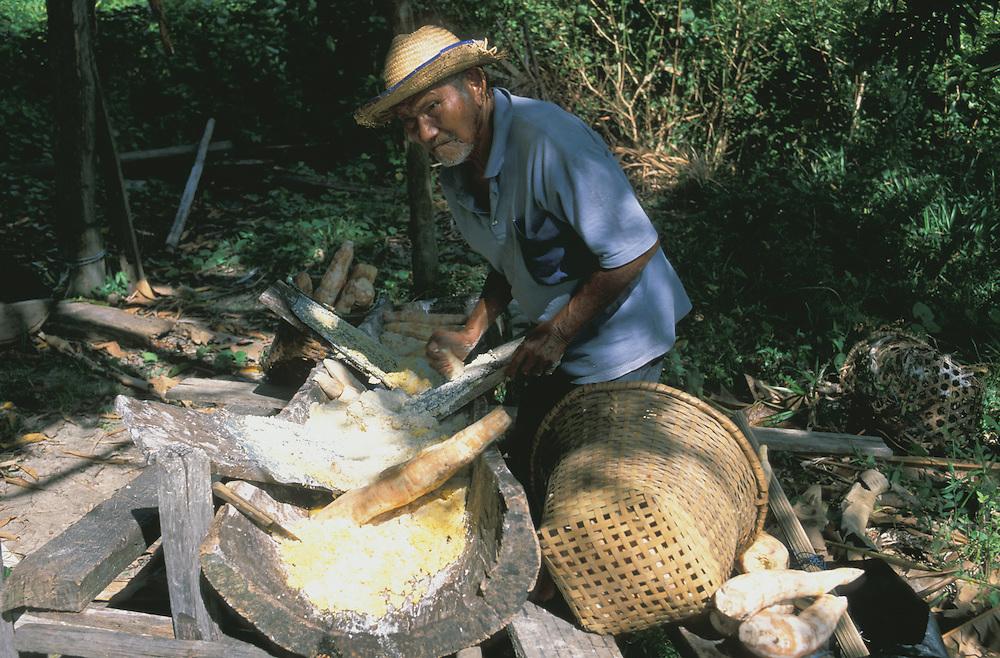Ex Slave Community, Quilombo Family, Ilha do Marajo, Amazon Delta, Amazonia, Brazil