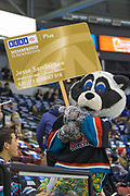 KELOWNA, CANADA - MARCH 14:  BCAA at the Kelowna Rockets game on March 14, 2018 at Prospera Place in Kelowna, British Columbia, Canada.  (Photo By Cindy Rogers/Nyasa Photography,  *** Local Caption ***
