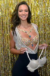 November 1, 2017 - New York, NY, USA - November 1, 2017  New York City..Victoria's Secret Angel Lais Ribeiro reveals this season's ultimate holiday fantasy: The 2017 Champagne Night Fantasy Bra designed exclusively for Victoria's Secret by world-renowned jeweler Mouawad at the Victoria's Secret 5th Avenue store on November 1, 2017 in New York City. (Credit Image: © Kristin Callahan/Ace Pictures via ZUMA Press)