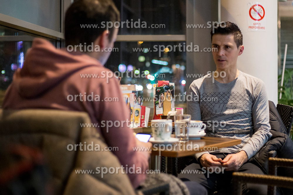 Interview with Mile Simeunovic, former futsal player, on January 24, 2018 in Ljubljana, Slovenia. Photo by Urban Urbanc / Sportida