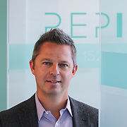 Shawn Carpenter in the REPIQ office Friday July 21, 2017. Founded in 2016 by Shawn Carpenter, a serial entrepreneur, and Jonathan Suchland, a former Amazon software development manager, Chicago-based RepIQ crawls the internet to create a database of more than 1 million companies salespeople can tap into, then suggests the best leads to reps.