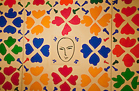 National Gallery, Washington DC. Matisse cut-outs, extensive collage with masks