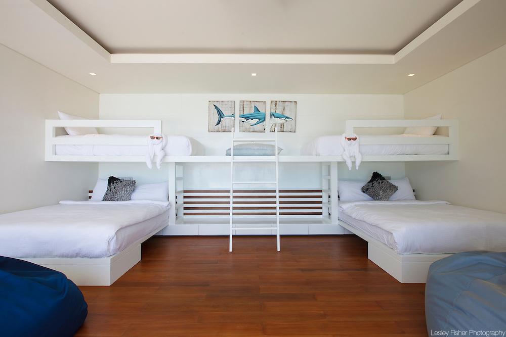 Children's room at Lime Villa 4, a luxury private, ocean view villa, Koh Samui, Surat Thani, Thailand