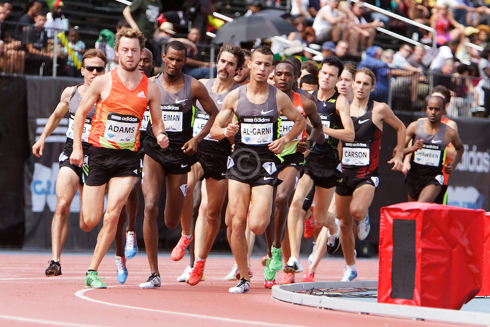 Samsung Diamond League adidas Grand Prix track & field; men's 1500 meters, Adams rabbit,