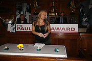 LYNNE HARRISON WHO RECEIVED DAVID HARRISON'S AWARD, Paul Foot Award for Journalism, Courthouse Hotel, 19 Great Marlborough Street, London. 16 October 2006. -DO NOT ARCHIVE-© Copyright Photograph by Dafydd Jones 66 Stockwell Park Rd. London SW9 0DA Tel 020 7733 0108 www.dafjones.com