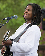 Ruthie Foster playing Merlefest 2008 in Wilkesboro NC