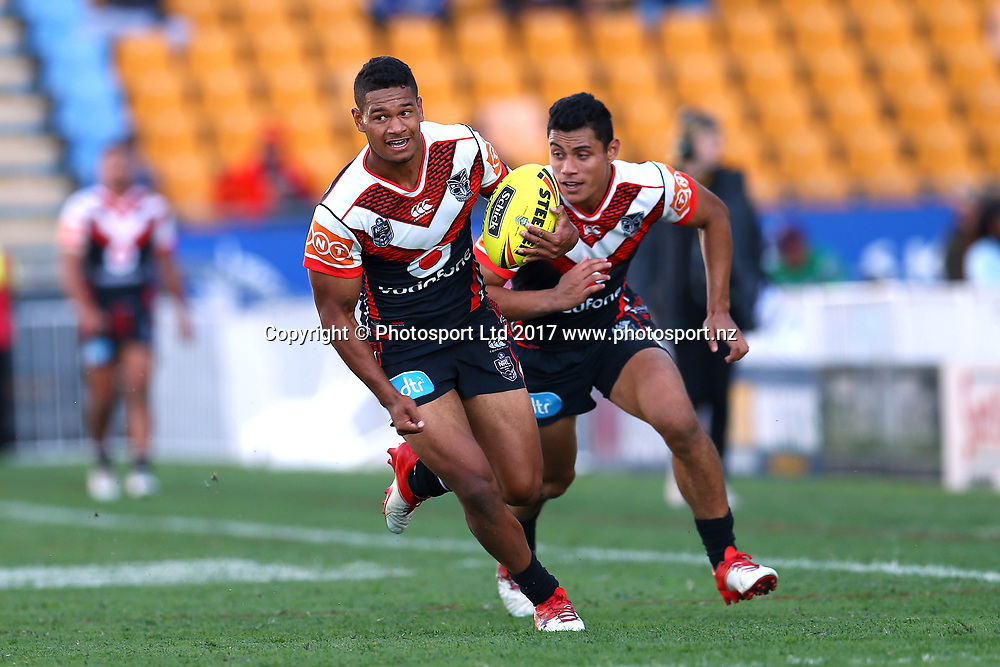 Lee Turner. Junior Warriors v Junior Roosters, Round 9 of the 2017 NYC Holden Cup Rugby League season at Mt Smart Stadium, Auckland, New Zealand. 30 April 2017. Copyright photo: Renee McKay / www.photosport.nz