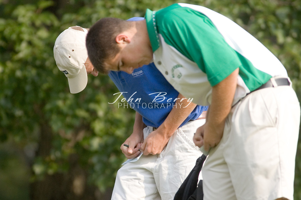 MCHS Golf vs Greene .September 7, 2006