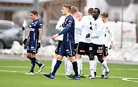 Fotball , 3. mars 2017 , Privatkamp<br /> Odd - Viking<br /> Michael Ledger , Viking <br /> depper   etter Odd-scoring