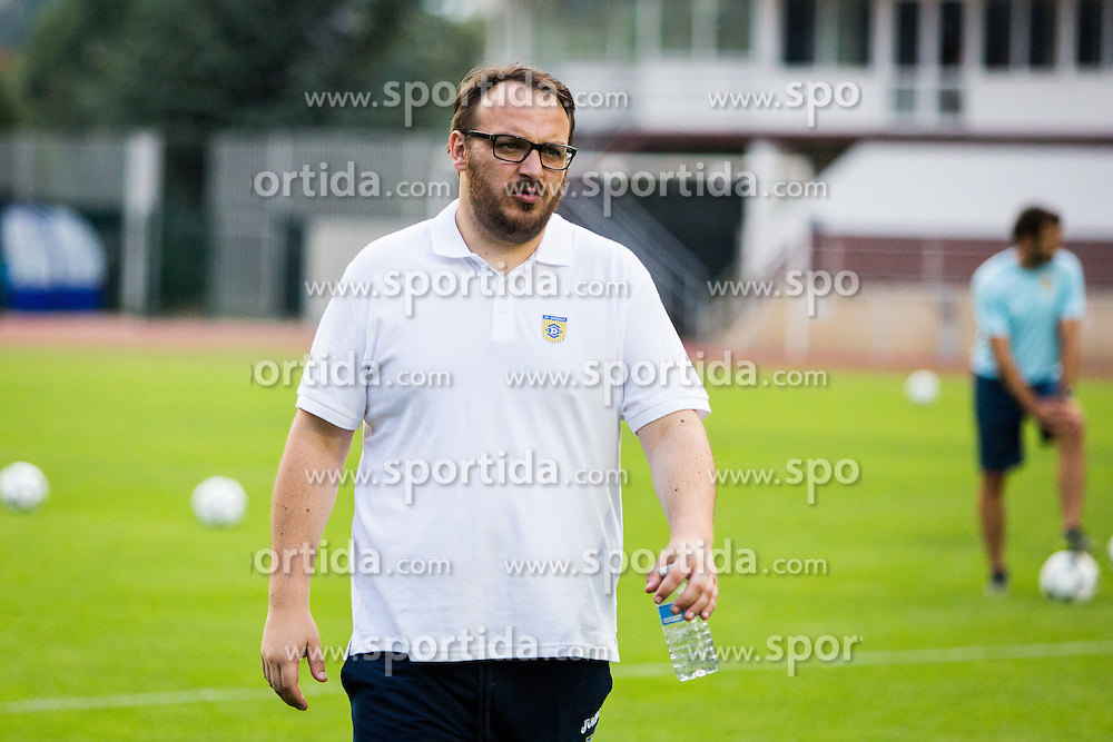 Matej Orazem during practice session before football match between NK Domzale and FC Lusitanos Andorra in second leg of UEFA Europa league qualifications on July 6, 2016 in Andorra la Vella, Andorra. Photo by Ziga Zupan / Sportida