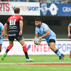 Mohamed HAOUAS of Montpellier   during the Top 14 match between Montpellier and Toulouse on October 19, 2019 in Montpellier, France. (Photo by Alexandre Dimou/Icon Sport) - Mohamed HAOUAS - Altrad Stadium - Montpellier (France)