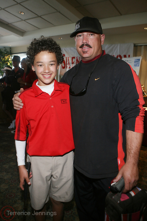 l to r: Jonah Texeira and Johnny Texeira at ?Kiki's 1st Annual Celebrity Golf Challenge? Presented by ALIZÉ, The Premium Liqueur held at The Braemar Country Club on October 134, 2008 in Tarzana, Ca..KiKi?s Celebrity Golf Challenge (CGC) - conceived and spearheaded by Ms. Shepard ? is a fundraising event to benefit The K.I.S. Foundation, Inc.  The central mission of The K.I.S. Foundation is to inform and educate the public, raise awareness about Sickle Cell Disease through community outreach programs and educational scholarships, and to financially help support the efforts of research institutions to find a universal cure. Sickle Cell Disease is an inherited, non-contagious blood disease that can be crippling, painful, and life threatening. The K.I.S. Foundation Awards Banquet will also honor individuals and organizations who have selflessly committed themselves in the fight against Sickle Cell Disease...