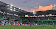General view during Second qualifying round UEFA Champions League soccer match between Legia Warsaw and St. Patrick's Athletic at Pepsi Arena in Warsaw, Poland.<br /> <br /> Poland, Warsaw, July 16, 2014<br /> <br /> Picture also available in RAW (NEF) or TIFF format on special request.<br /> <br /> For editorial use only. Any commercial or promotional use requires permission.<br /> <br /> Mandatory credit:<br /> Photo by © Adam Nurkiewicz / Mediasport