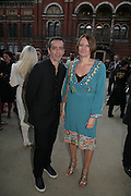 V and A celebrates 150th anniversary. V and A. London. 26 June 2007.  -DO NOT ARCHIVE-© Copyright Photograph by Dafydd Jones. 248 Clapham Rd. London SW9 0PZ. Tel 0207 820 0771. www.dafjones.com.